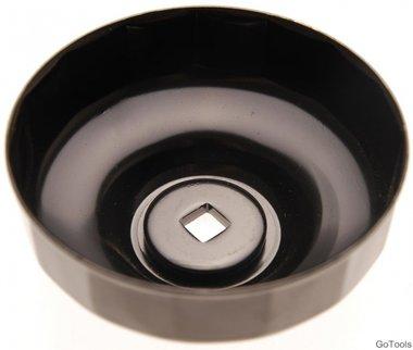 Ölfilterschlüssel 18-kant durchmesser 96 mm für Renault, VW
