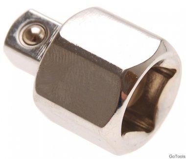 Steckschlüssel-Adapter Innenvierkant 12,5 mm (1/2) - Außenvierkant 10 mm (3/8)
