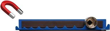 Halteschiene für Steckschlüssel-Einsätze magnetisch für Antrieb (1/2)