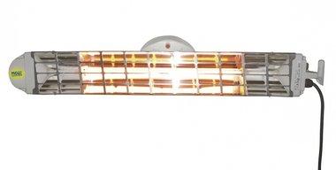 Doppelte Infrarot-Heizung mit 2 Lampen