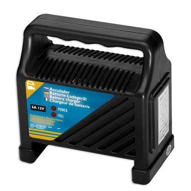 Batterieladegerät 12V 6Amp.