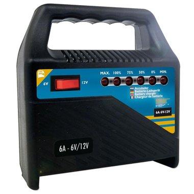 Batterieladegerät 6V/12V 6Amp.