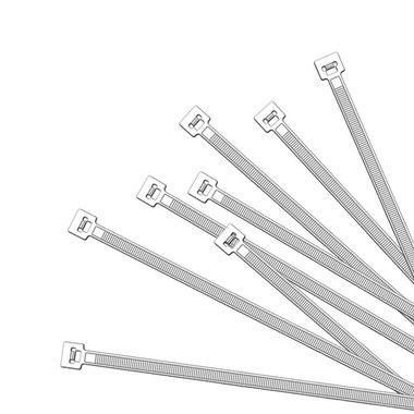 Kabelbinder 380x4,7mm 1000 Stück weiß