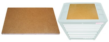 MDF-Holzplatten-Einsatz für Werkstattwagen PROFI