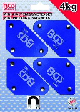 4-teiliges Mini-Magnet-Halter-Set, 45 ° -90 ° -135 °