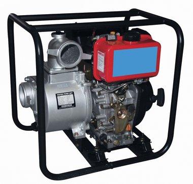 Wasserpumpe mit Dieselmotor