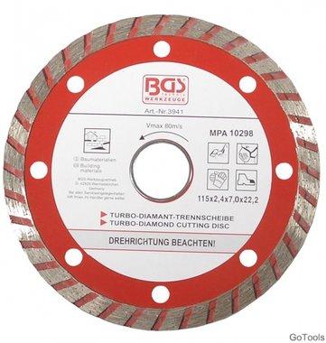 Turbo-Trennscheibe diameter 115 mm