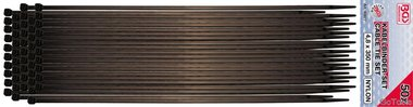 Kabelbinder-Satz, 4,5 x 350 mm, 50-tlg.