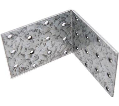 Winkelverbinder, verzinkt, 80x80x60x2,5 mm