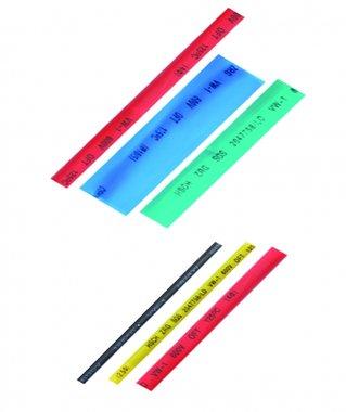 Schrumpf-Schlauch-Sortiment, farbig, 90-tlg.