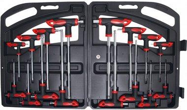 16-delige inbus en Torx Key Set