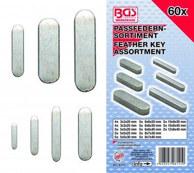 60 Stück Feather Key Sortiment