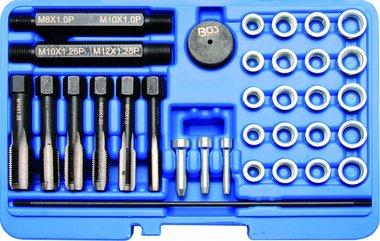 Glühkerzengewinde-Reparatursatz, 33-tlg