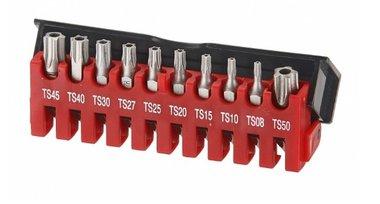 Bit Satz Torx 5-Stern TS Profil 10 tlg