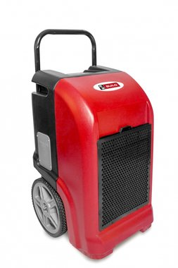 Industrielle Luftentfeuchter 70l / Tag in PE mit Ablaufpumpe.