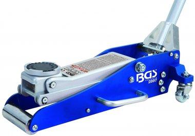Hydraulischer Bodenheber, 1,5 to. Aluminium-Stahl-Konstruktion