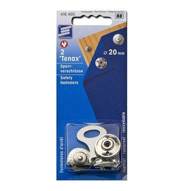 Tenax Sperrverschluss, 20mm, 2 Stück im Blister