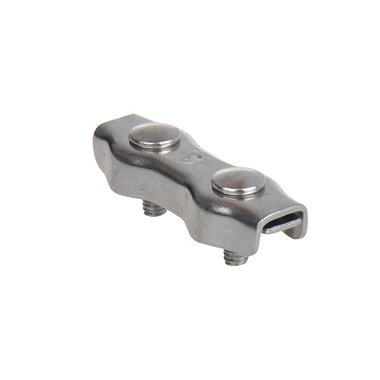Duplex Seilklemme 3mm, A4 RVS AISI 316