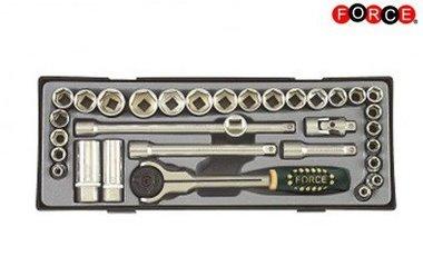 3/8 Steckschlüsselsatz 32 Stück (Metrisch & SAE)