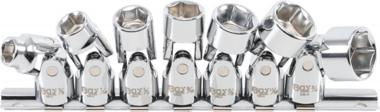 Gelenk Steckschlüsselsatz 10 mm (3/8 Zoll) Antrieb 3/8 Zoll - 3/4 Zoll Zoll Größe 7 Stück