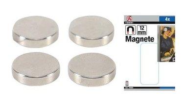 Magnetsatz extra starker Durchmesser 12 mm 4-tlg