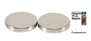 Magnetsatz extra starker Durchmesser 18 mm 2 Stück