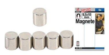 Magnetsatz extra starker Durchmesser 9,5 mm 6 Stck