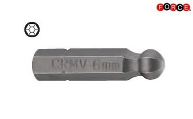 Inbus-Rundkopfbit 1/4 -25mmL 2,5mm