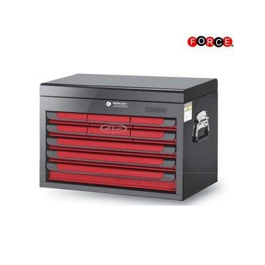 Glory rot & schwarz 9-Fach-Top-Brust (glänzende Farbe)