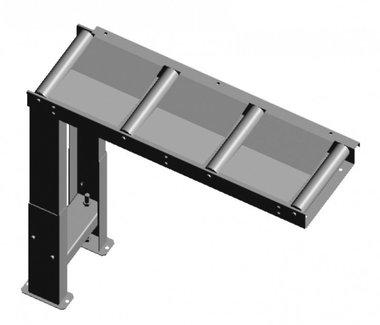 Be- und Entladerollenförderer 1000 x 290 mm