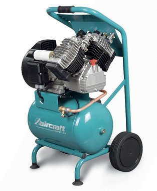 Mobiler Baukompressor mit 10 bar, 20 Liter