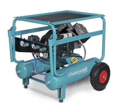 Mobiler Baukompressor mit 10 bar - 2x11 Liter