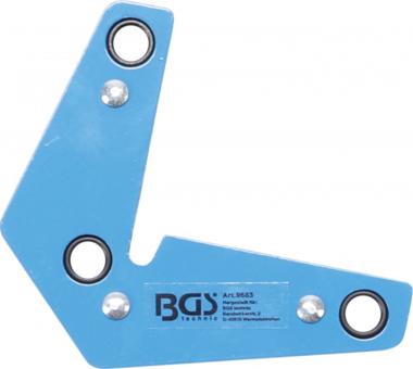 Kraft-Magnethalter L-Form 9 kg