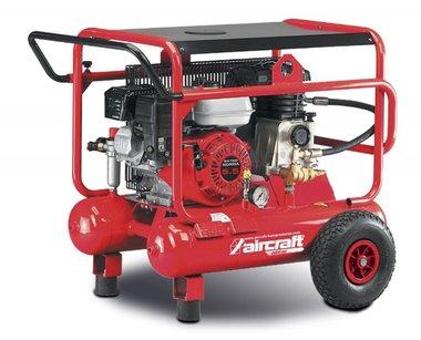 Mobiler Benzin-Baukompressor 10 bar - 2x10 Liter