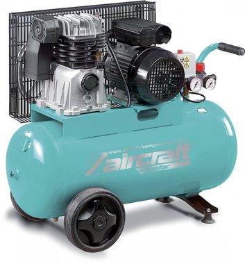 Riemengetriebener Kompressor 2 Zyl. 10 bar - 50 Liter
