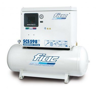 Geräuschloser Kompressor 270 Liter