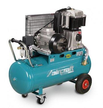 Riemengetriebener Ölkompressor 10 bar - 100 Liter
