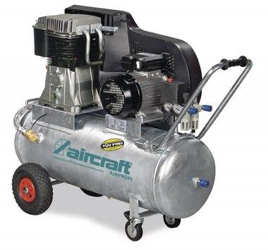 Riemenbetriebener Ölkompressor verzinkter Kessel 10 bar, 112kg - 100 Liter