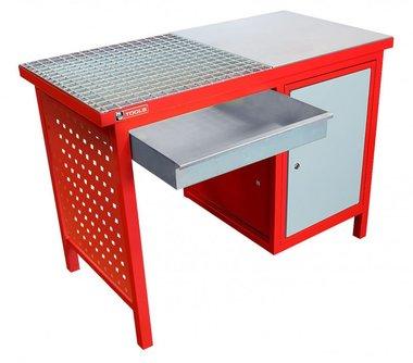 Letzter Tisch 120 cm - mit Schrank