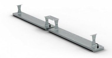 Deckenhalterung 396x1,5x120mm für MO9818