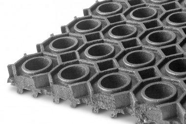 Epdm auf Rolle 9,24m x 1000mm x 13mm Ring matt schwarz