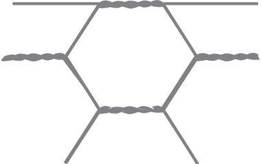 Sechseckiges Netz Avigal 25x0,8 50 cm x 5 m