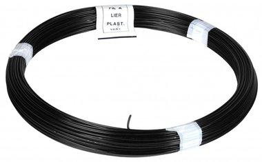 Garn PVC schwarz 1,4/2,0 mm 50 m