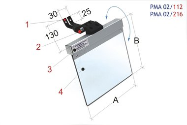 Universal-Schutzabdeckungsmühle / Bandschleifmaschine 160-145mm